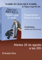 """Fotos de Revilla en la presentacion de su libro """"Nadie es más que Nadie"""""""